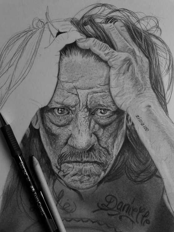 Natasha Petrova. A Portrait Of Danny Trejo - photo 1