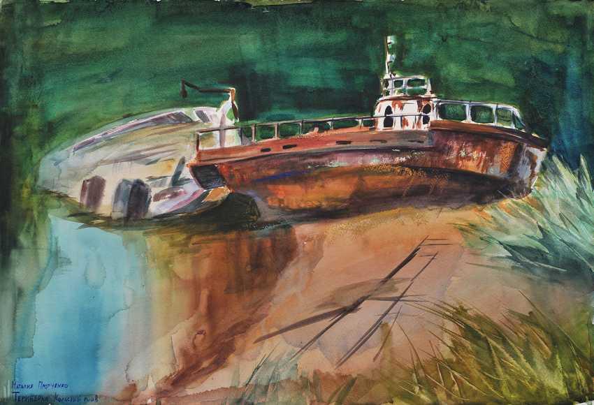 Nataliya Protchenko. Vieux navires. - photo 1