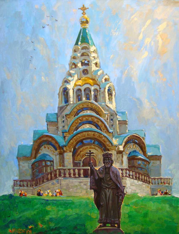 Andrey Mishagin. La cathédrale sainte-sophie - photo 1