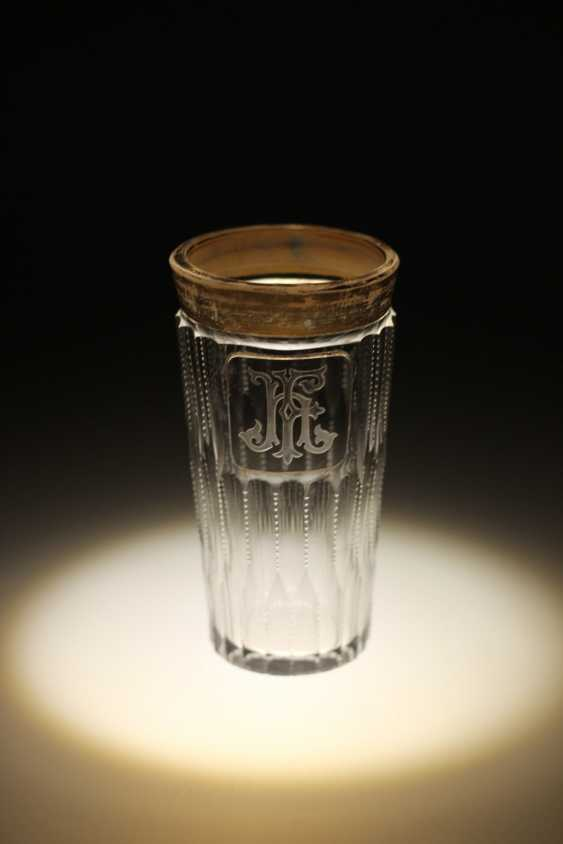 Glass monogrammed HF - photo 1