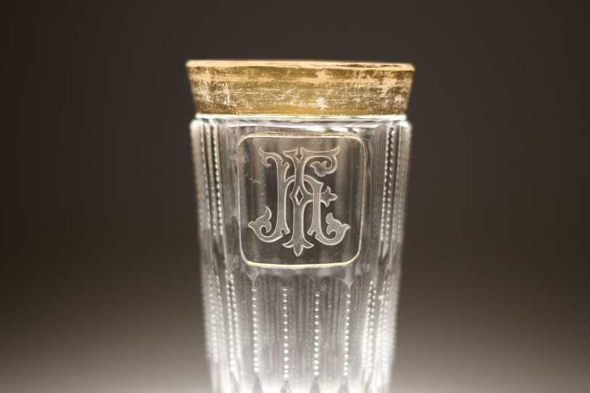 Glass monogrammed HF - photo 2