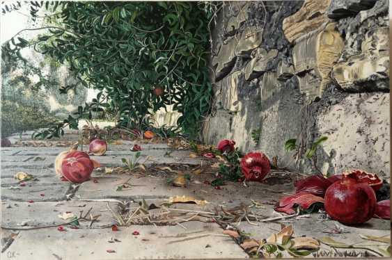 "Oksana Kocherzhat. The Painting ""Grenades"" - photo 1"