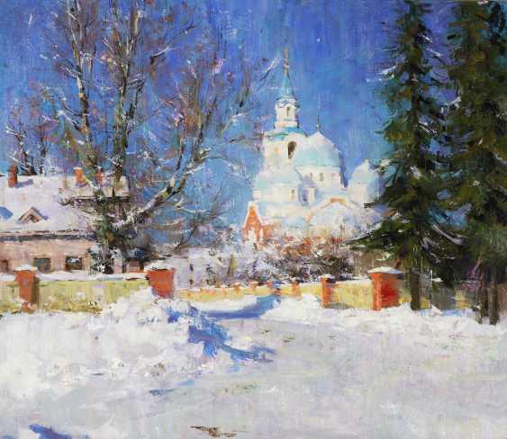 Alexander Kosnichev. Sunny morning. Valaam monastery - photo 1