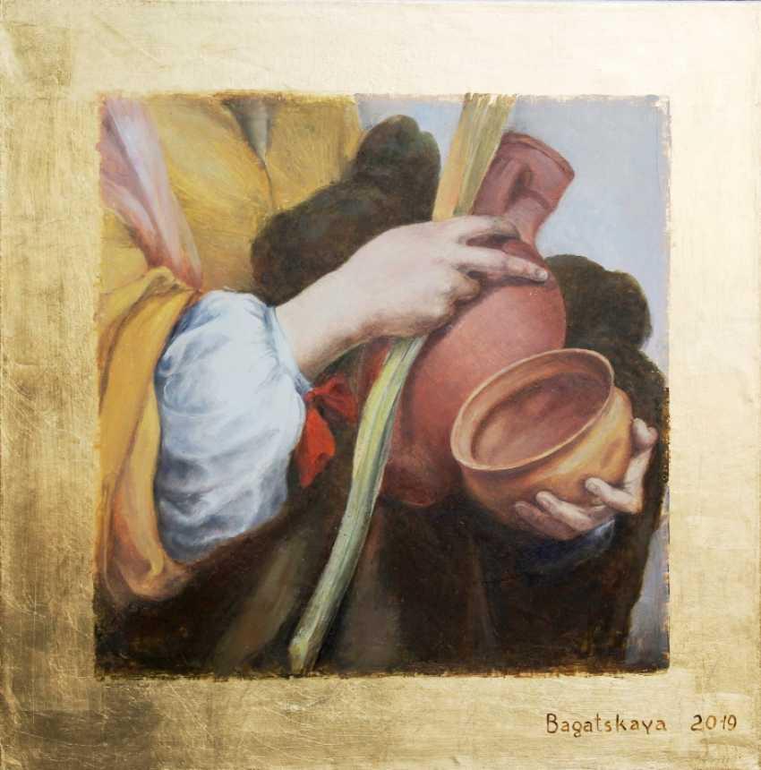 "Nataliia Bahatska. A fragment of the painting ""Saint Justa"", Murillo - photo 1"