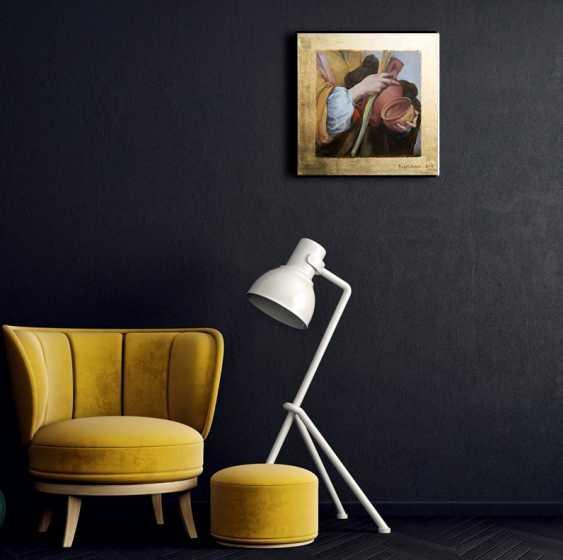 "Nataliia Bahatska. A fragment of the painting ""Saint Justa"", Murillo - photo 3"