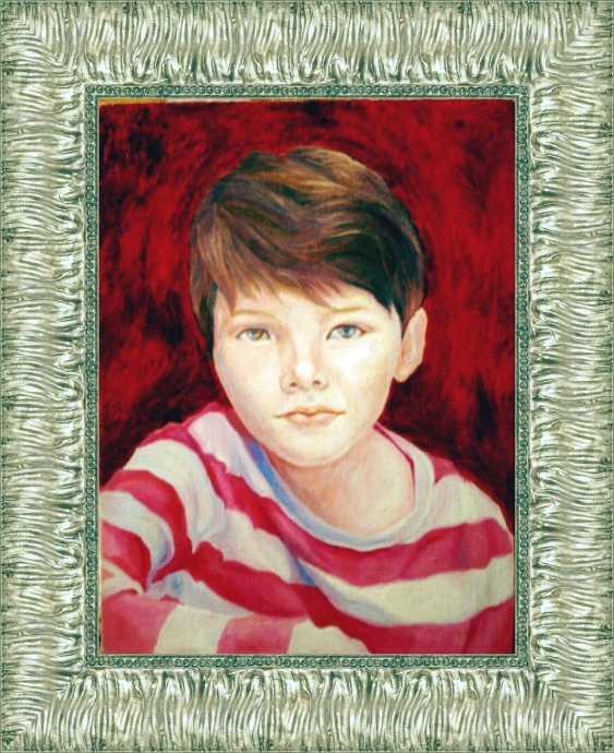 Макс Ант. Мальчик портрет - фото 1