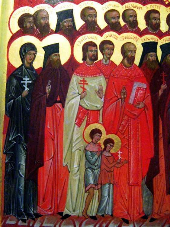 """Max Ant. Icon """"Kathedrale der Neumärtyrer und Bekenner Russlands"""" - Foto 4"""