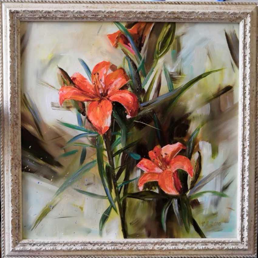 Ludmila Riabkova. Orange Lilies - photo 1