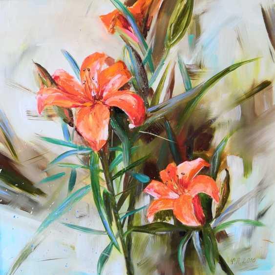 Ludmila Riabkova. Orange Lilies - photo 2
