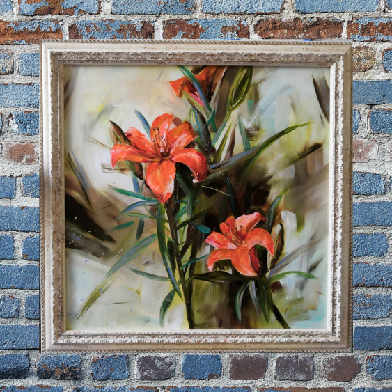 Ludmila Riabkova. Orange Lilies - photo 4