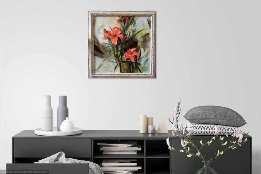 Ludmila Riabkova. Orange Lilies - photo 5