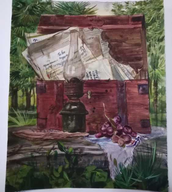 "Daniil Medvedenko. still life ""Memorabilia"" - photo 1"