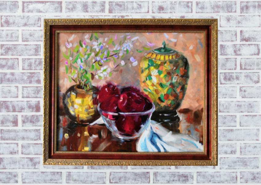 Ludmila Riabkova. Ruby apples - photo 3