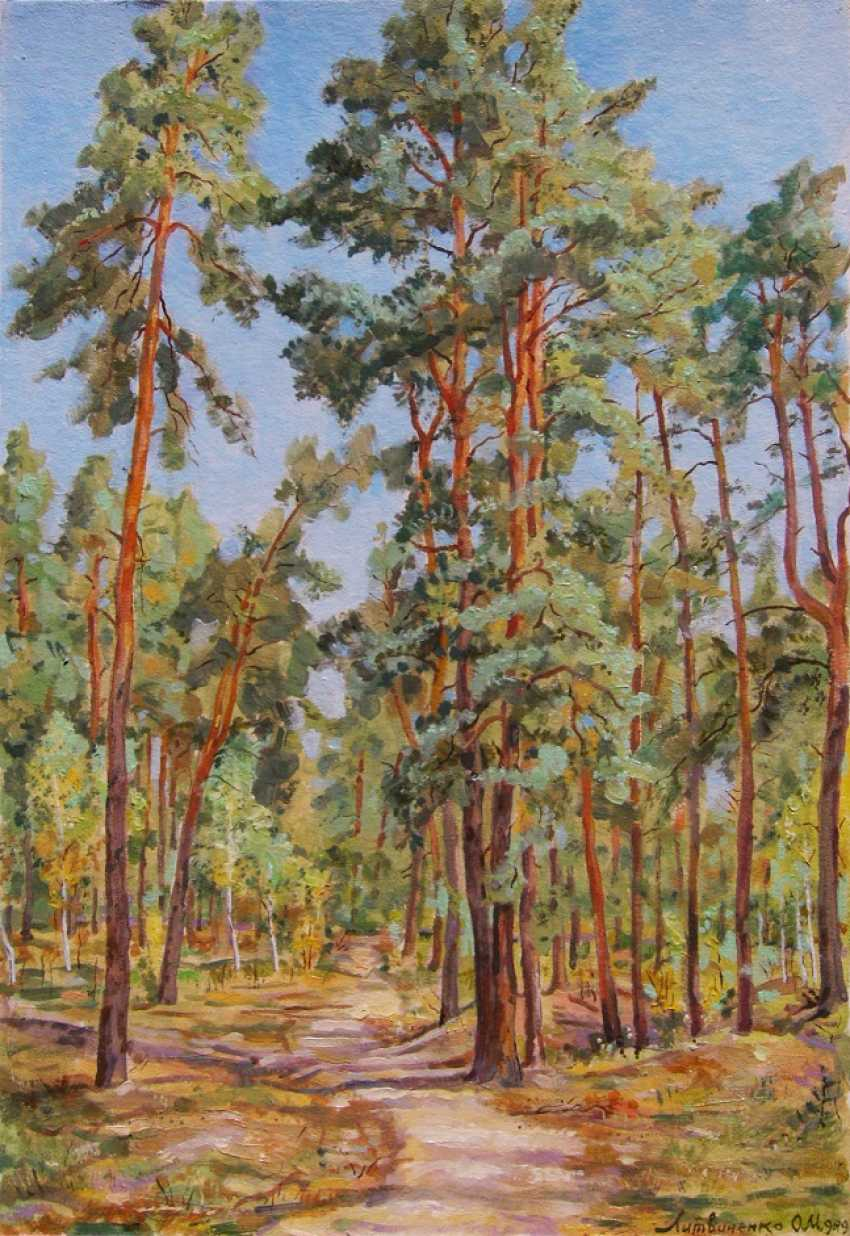 Oleg Lytvynenko. Forest pathway. - photo 1