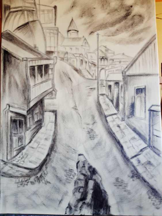 "Alla \almoro\ Morozova. IMAGES OF GEORGIA ""OLD TBILISI STREET"" - photo 1"