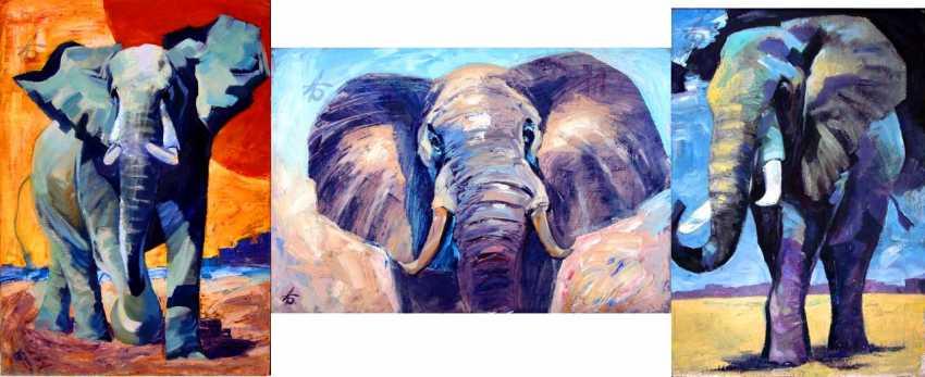 "Aleksandr Bolshakov. ""Elephants"" - photo 1"