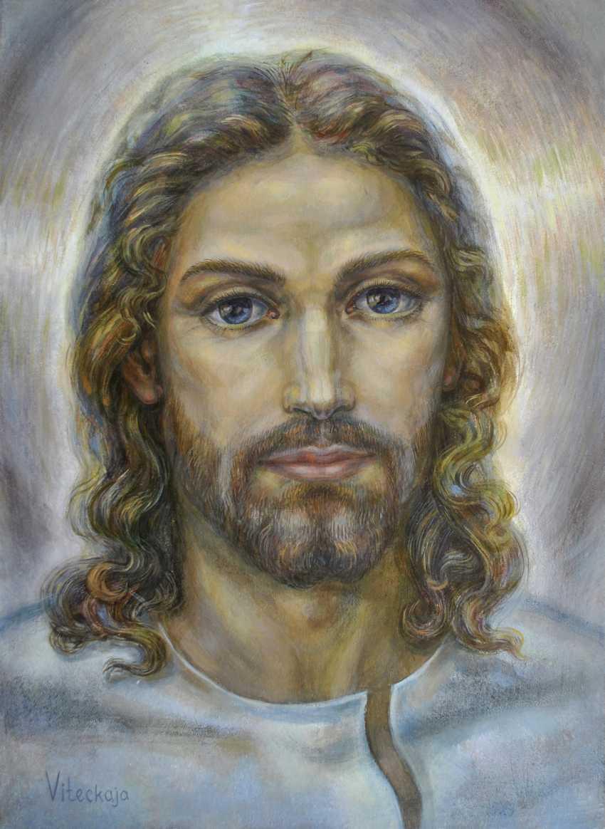 Vitsetskaya Sniazhana. Jesus Christ - photo 1