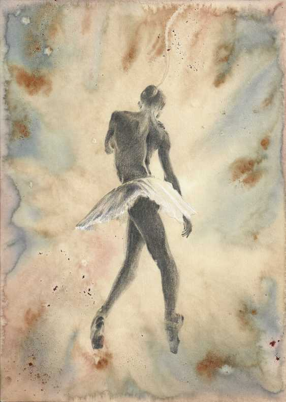 Natasha Mishareva. Ballet, ballet, ballet... drawing, handwork, 2019 Author - Pisareva Natalia - photo 1