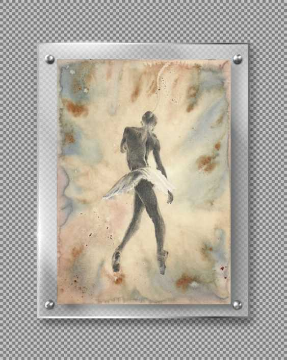 Natasha Mishareva. Ballet, ballet, ballet... drawing, handwork, 2019 Author - Pisareva Natalia - photo 2