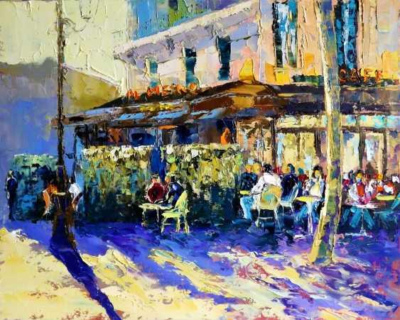 Sergey Efremov. Morning autumn Paris coffee Cup - photo 1