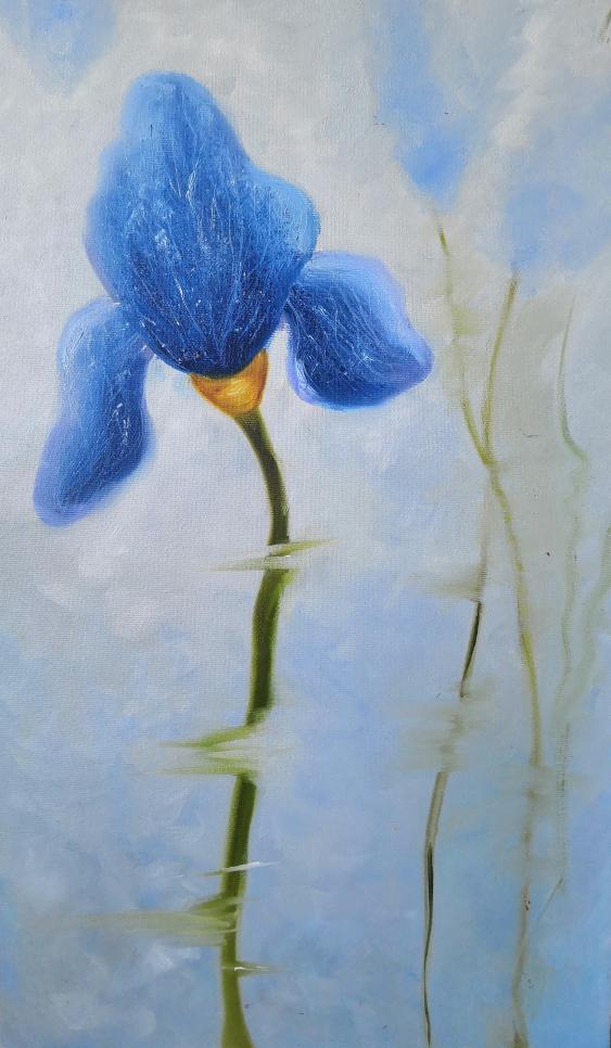 Ludmila Riabkova. Blue Iris - photo 1