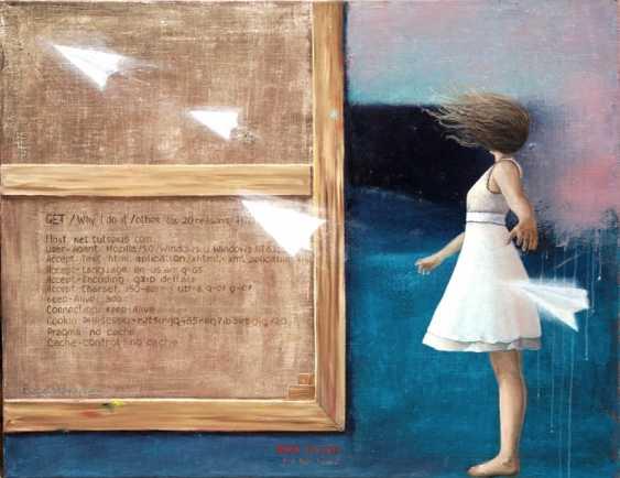 Nataliia Bahatska. Girl and the sea - photo 1