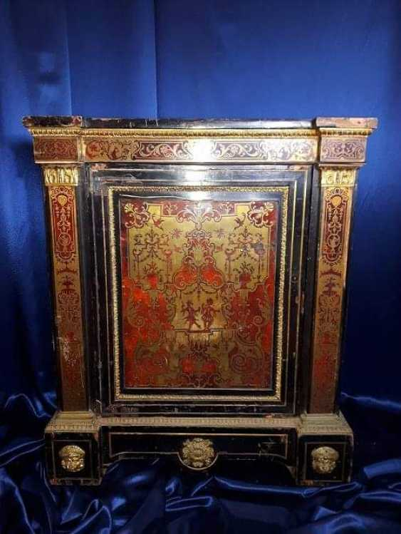 Unique Cabinet Boulle (Boulle) , XVIII century. - photo 1