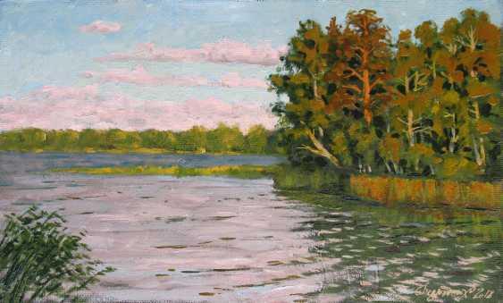 Alexander Bezrodnykh. Evening on the lake - photo 1