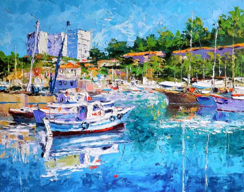 Sergey Efremov. In the Greek port - photo 1