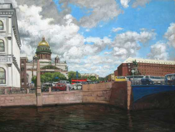 Alexander Bezrodnykh. St. Isaac's square - photo 1