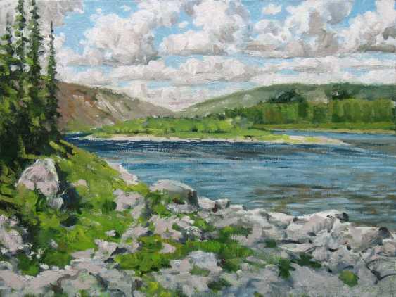 Alexander Bezrodnykh. the upper Kozhim river - photo 1