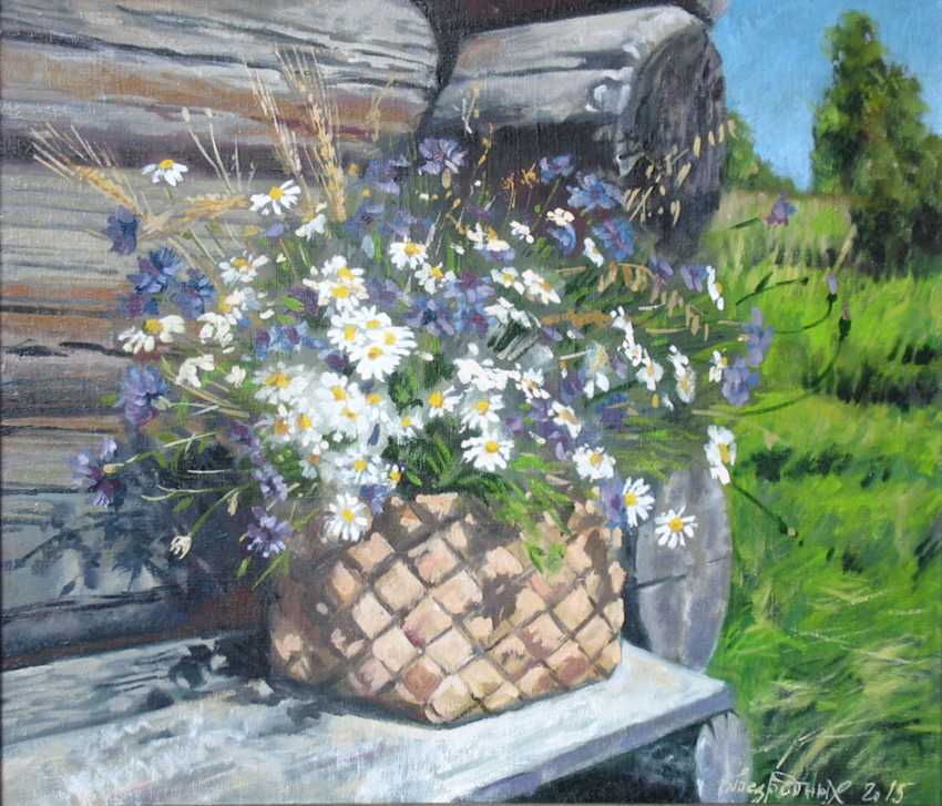 Alexander Bezrodnykh. chamomile.cornflowers - photo 1