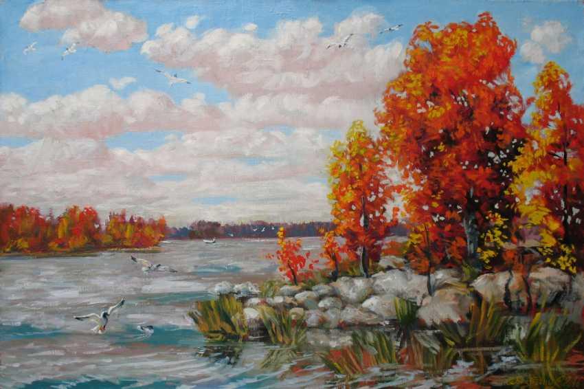 Alexander Bezrodnykh. Lake autumn - photo 1