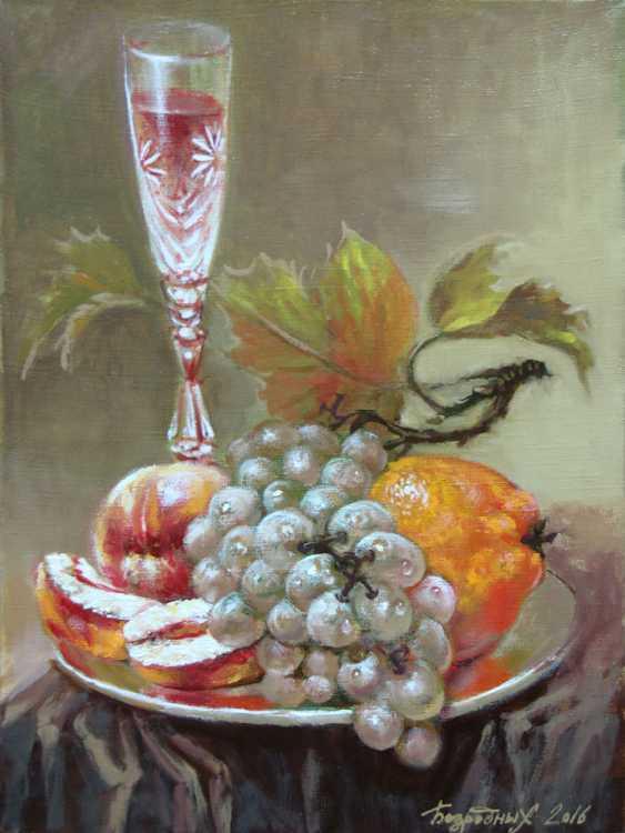 Alexander Bezrodnykh. With grapes - photo 1
