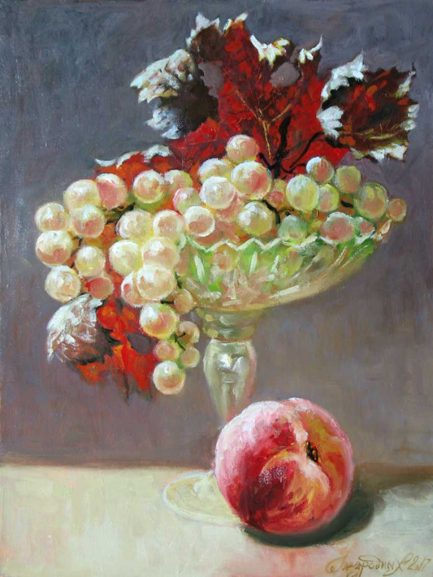 Alexander Bezrodnykh. Grapes.Peach - photo 1
