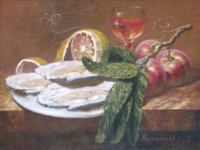 Alexander Bezrodnykh. with oysters - photo 1
