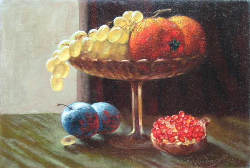 Alexander Bezrodnykh. Vase with grapes - photo 1