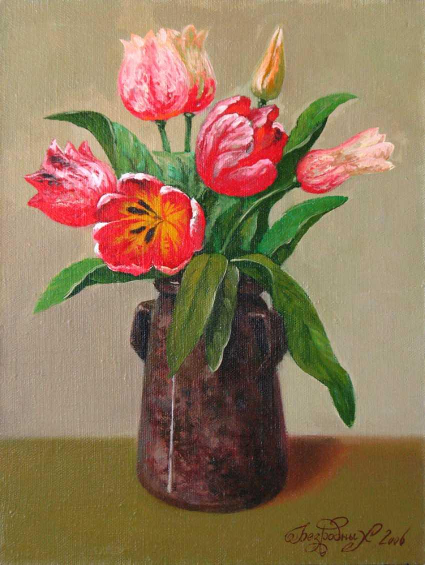 Alexander Bezrodnykh. Tulips - photo 1