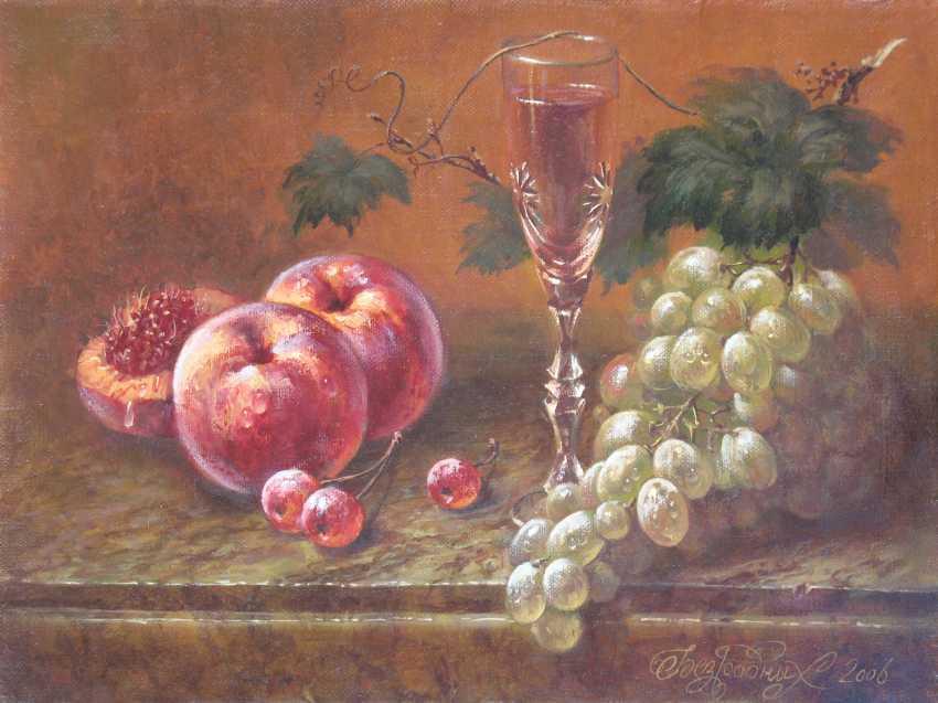 Alexander Bezrodnykh. peaches and cherries - photo 1