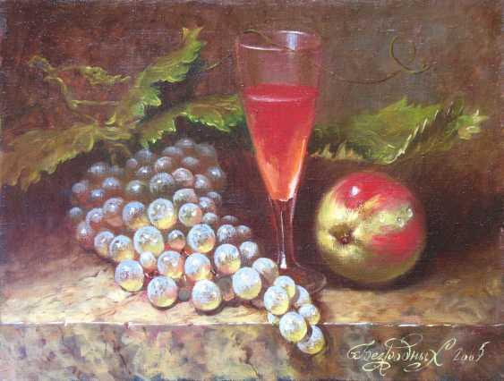 Alexander Bezrodnykh. naturmort with grapes - photo 1