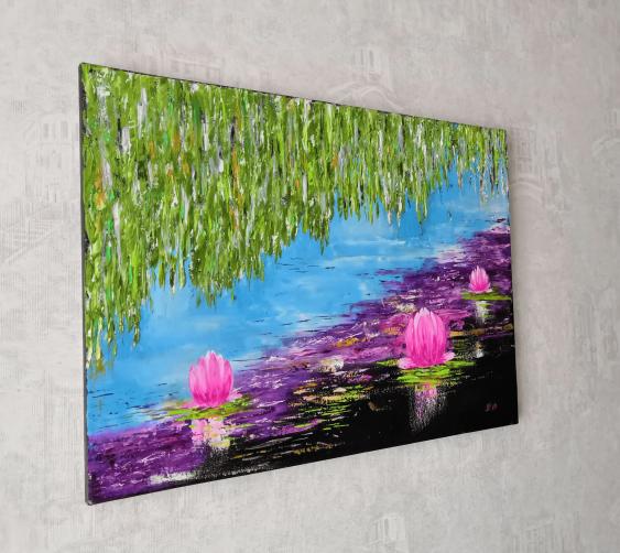 Ludmila Riabkova. Water lily Pink lotus Water lily - photo 2