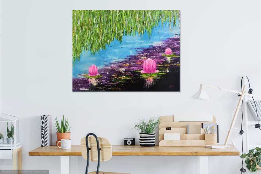 Ludmila Riabkova. Water lily Pink lotus Water lily - photo 3