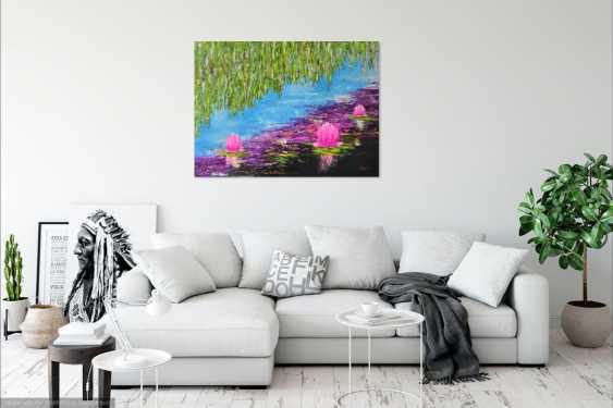 Ludmila Riabkova. Water lily Pink lotus Water lily - photo 4