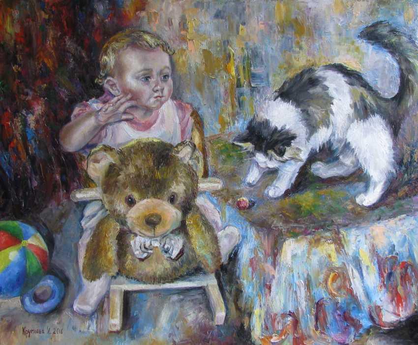 Irina Kruglova. Childhood - photo 1