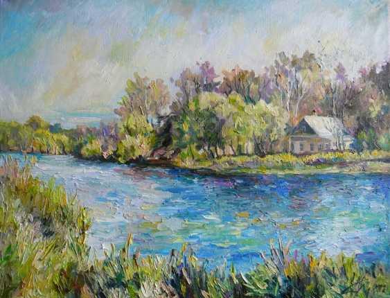 Irina Kruglova. Haus am Teich in der Vorstadt - Foto 1