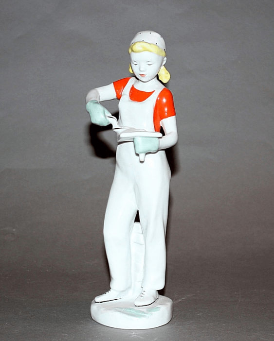 LFZ, 1960 -ies by V. F. Bogatyrev, porcelain, - photo 1