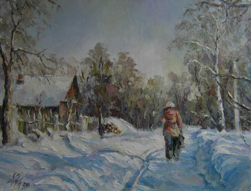 Irina Kruglova. Winter morning - photo 1