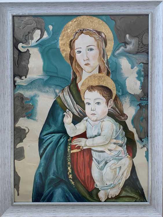 Yelyzaveta Cherednichenko. The Madonna and child - photo 1