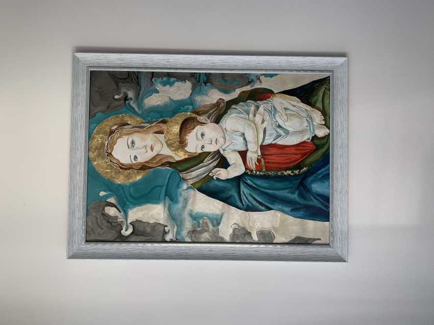 Yelyzaveta Cherednichenko. The Madonna and child - photo 3