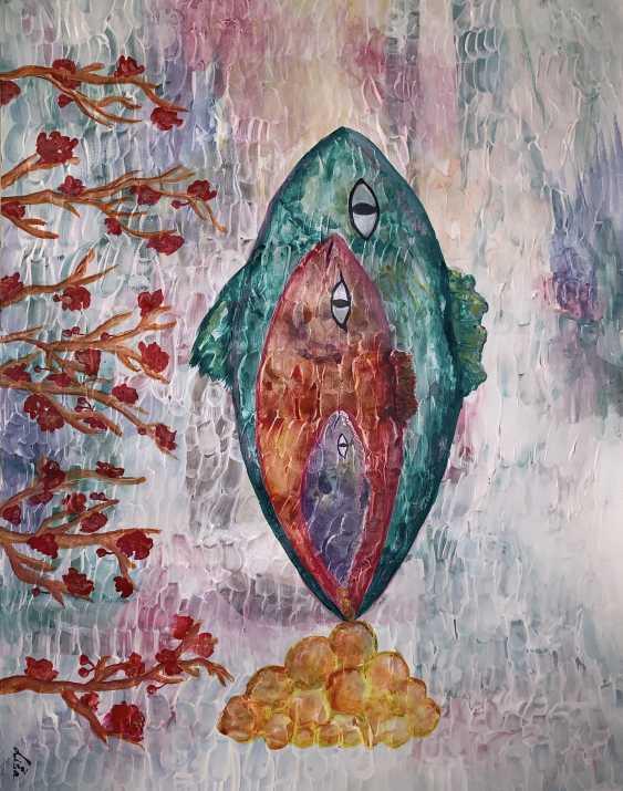 Yelyzaveta Cherednichenko. Fischfamilie(fish family) - photo 1